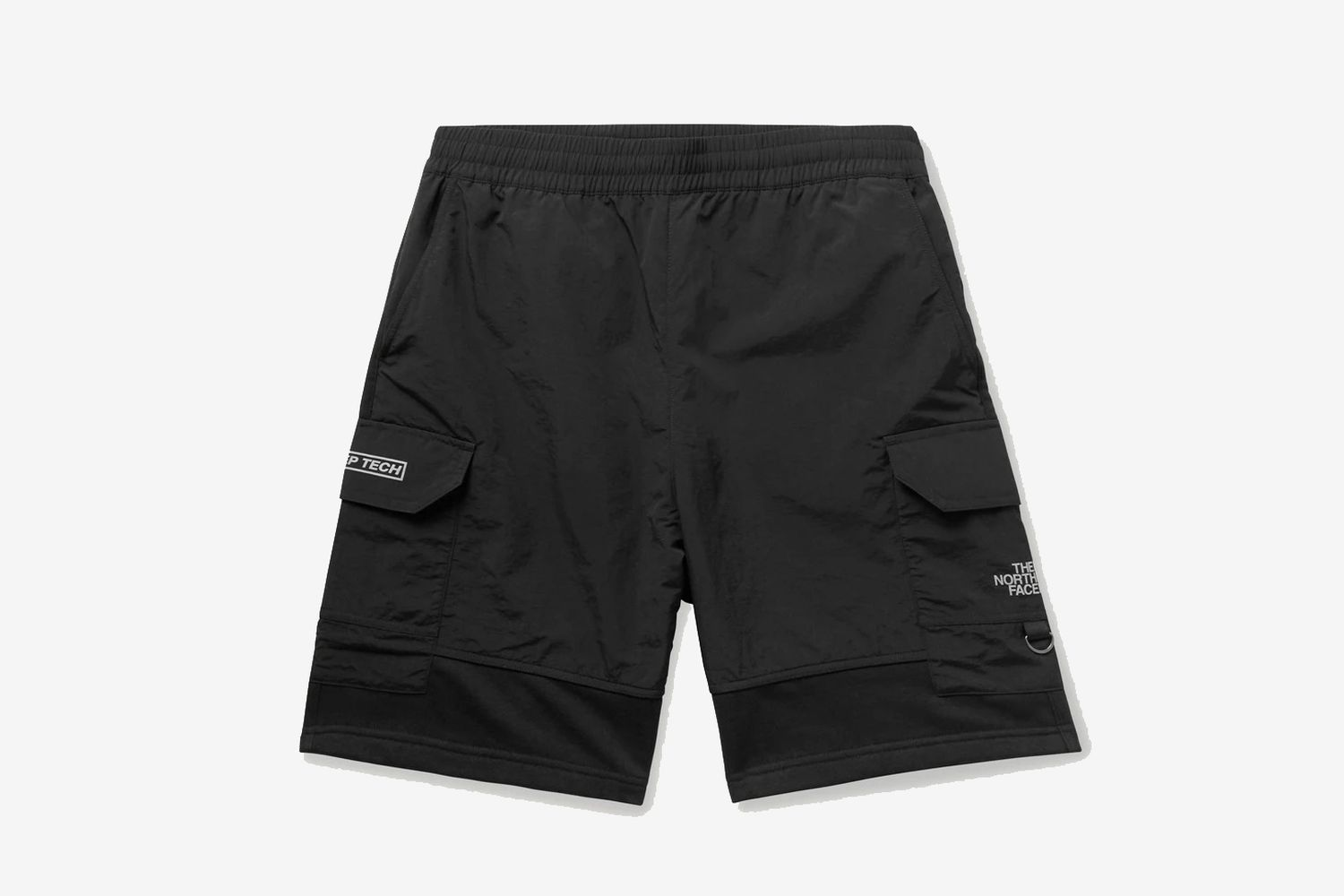 Steep Tech Light Cotton-Blend Jersey and Nylon Shorts