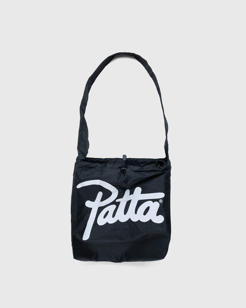 PATTA – Diamond Packable Tote Bag Black