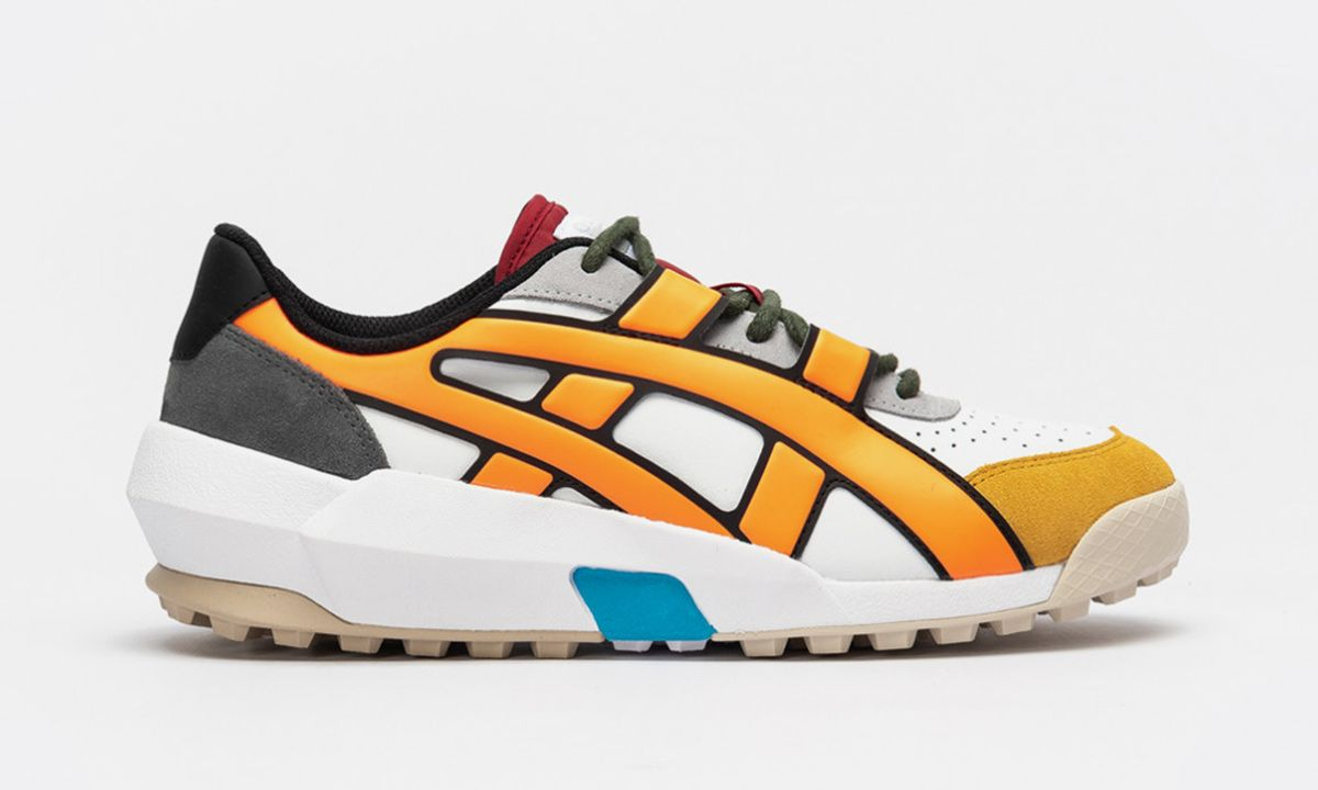 Onitsuka Tiger's Bold New Sneaker Looks like a Comic Book Illustration