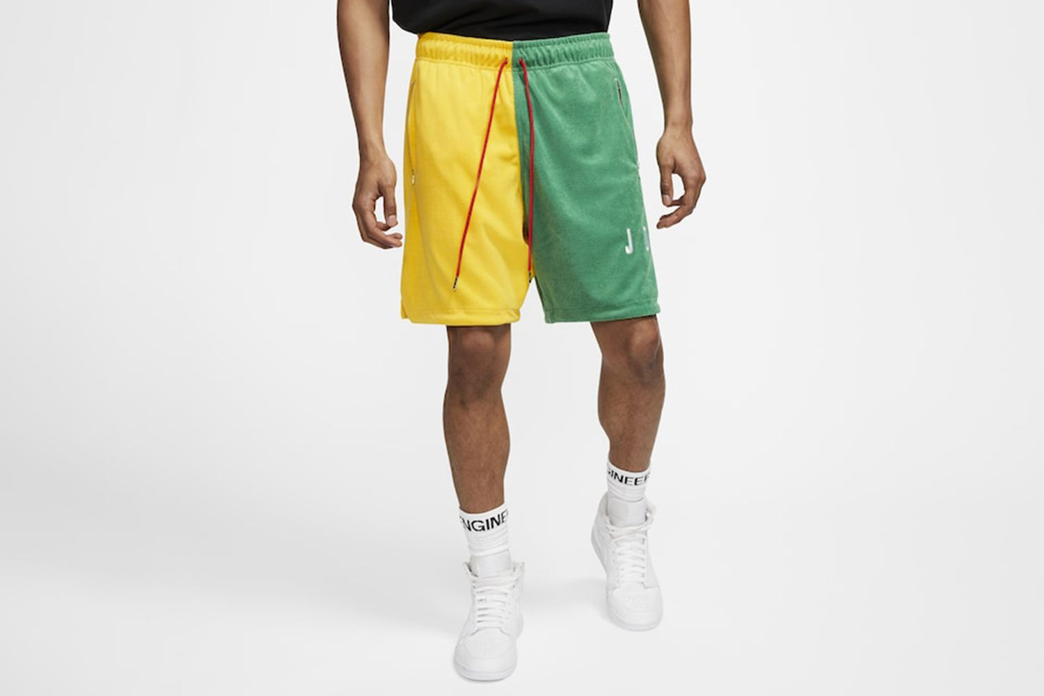 Split Terry DNA Shorts