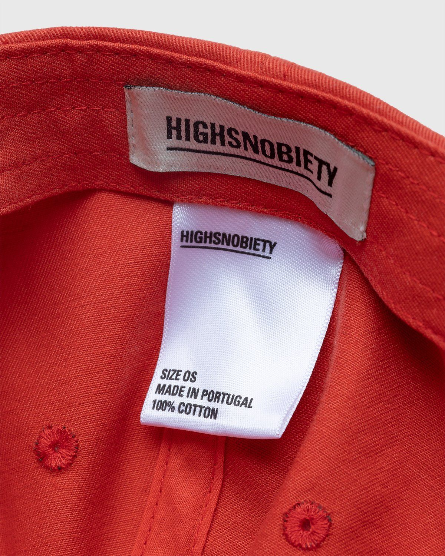 Highsnobiety – Baseball Cap Red - Image 6