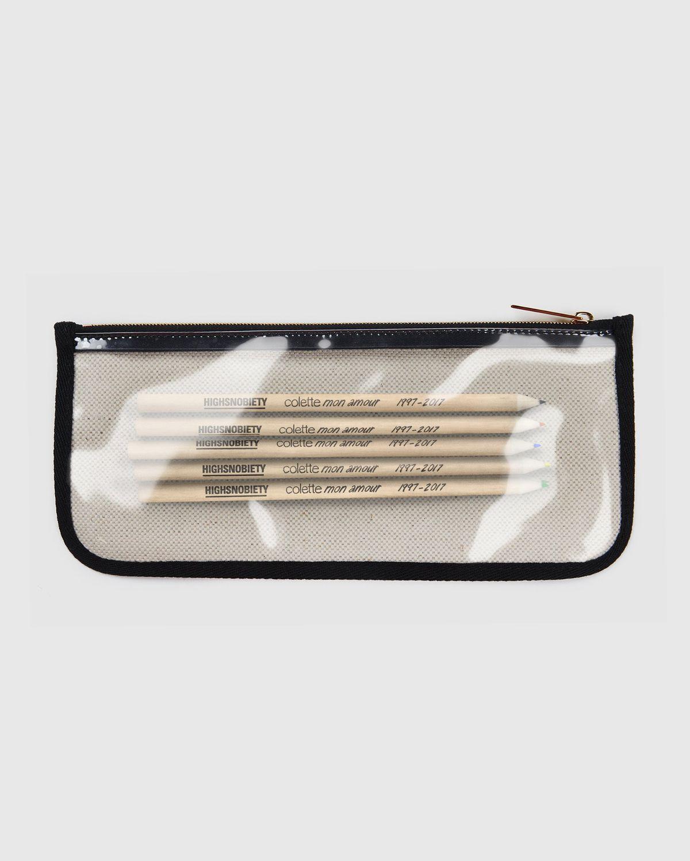 Colette Mon Amour x KAWS — Beige Pencil Case - Image 5