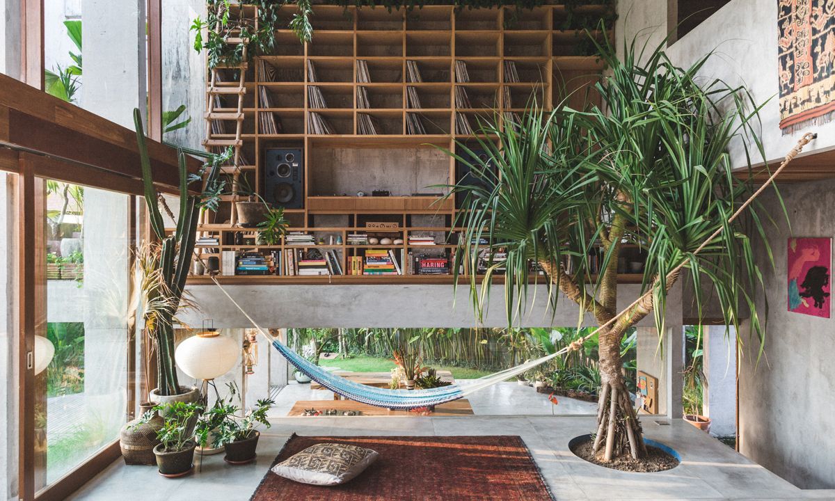 Dan Mitchell's Brutalist Home Is a Tropical Paradise in Bali
