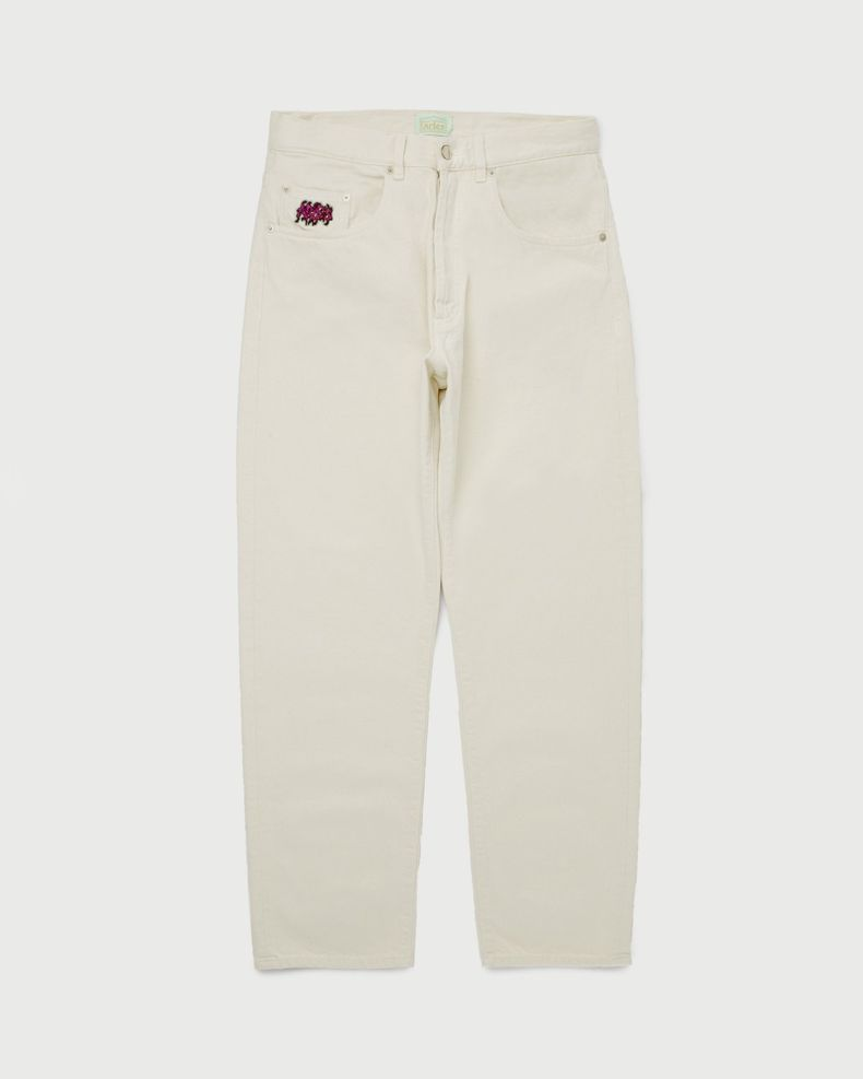 Aries - Batten Jeans Ecru