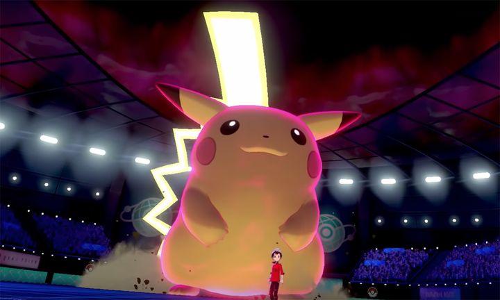 Pokémon Sword and Shield trailer giant Pikachu