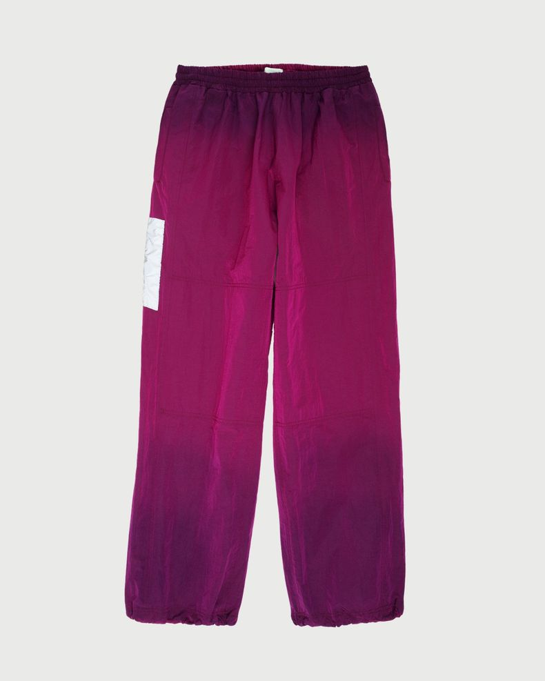 Aries — Ombre Dyed Track Pants Fuchsia