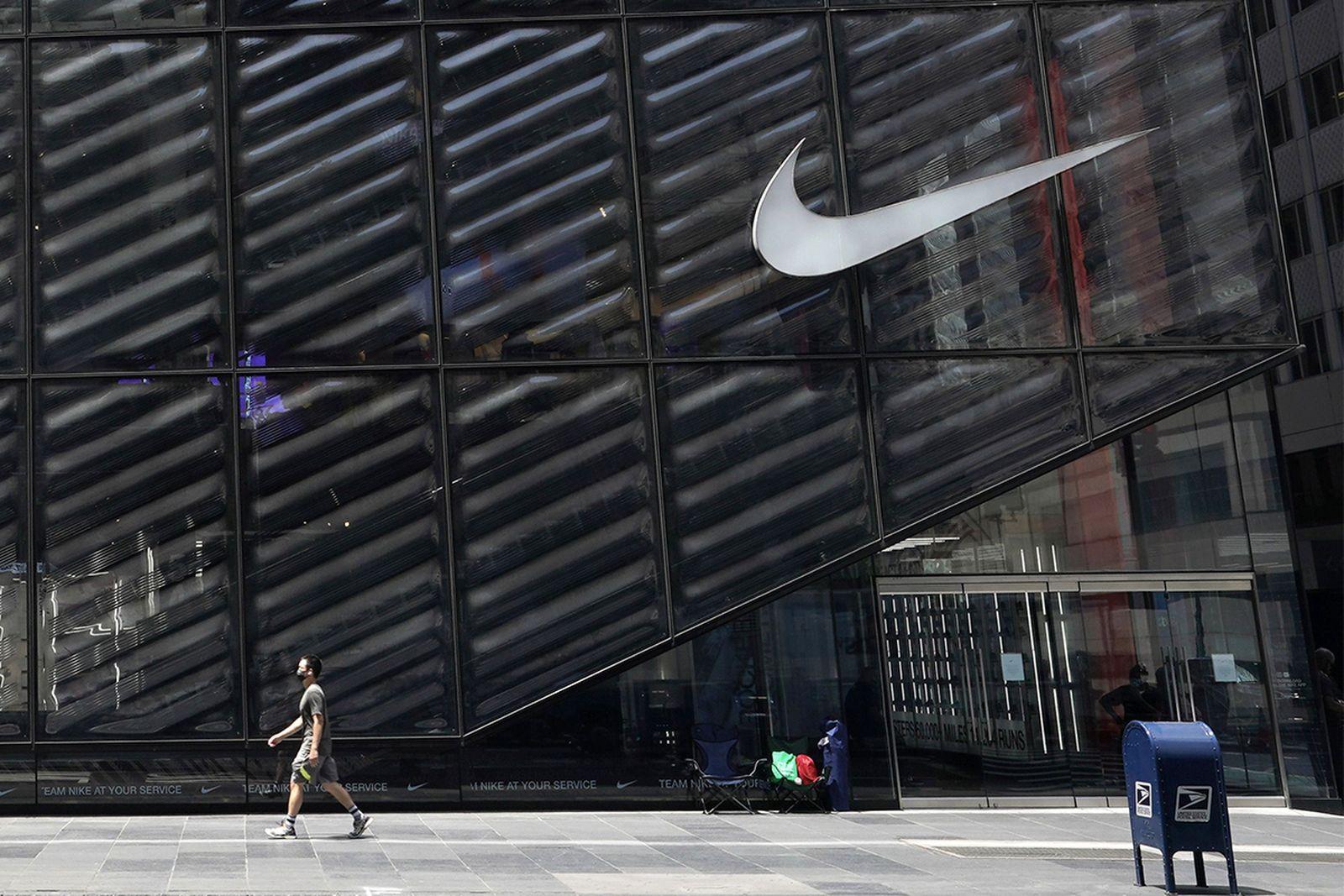 Facade of Nike building