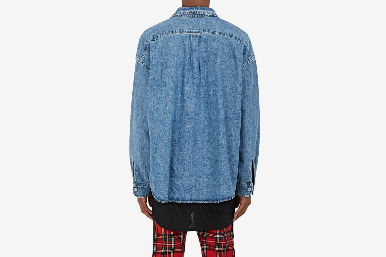 Denim Oversized Shirt