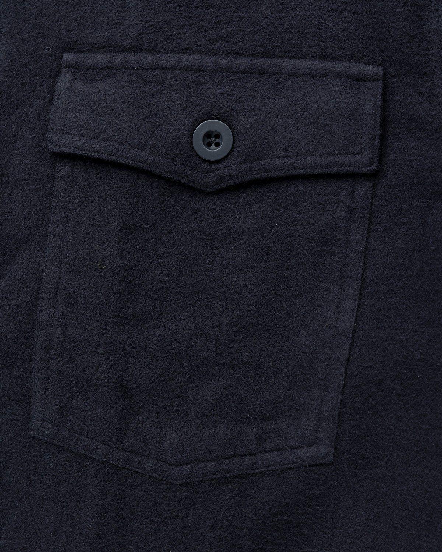 Our Legacy – Evening Coach Jacket Black Brushed - Image 5