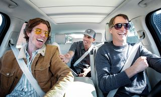 Tony Hawk, Shaun White & Kelly Slater Compare Injuries on 'Carpool Karaoke'