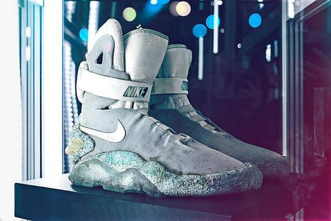 4ebdc73eb9 The Original Marty McFly-Worn Nike MAGs Will be Auctioned Later This Year