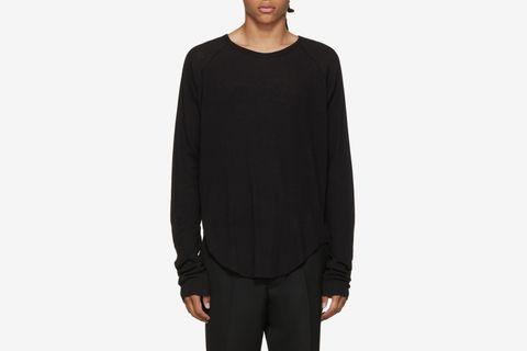 Long Sleeve Ribbed T-Shirt