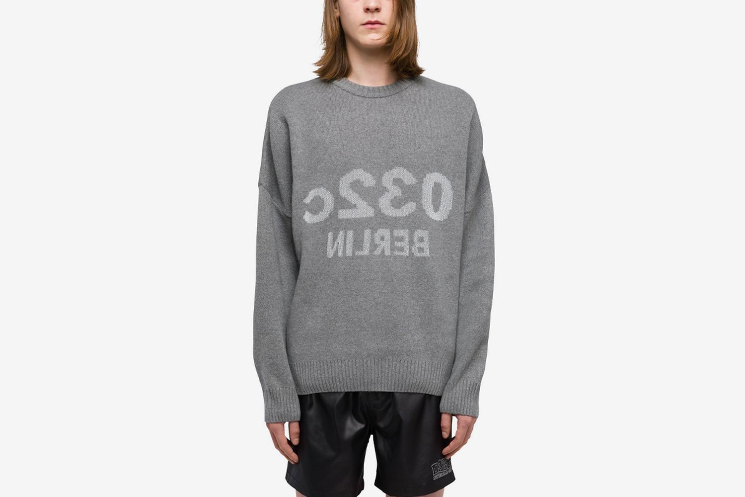 Reflective Knit Pullover