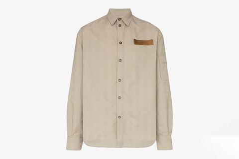Contrast Patch Shirt