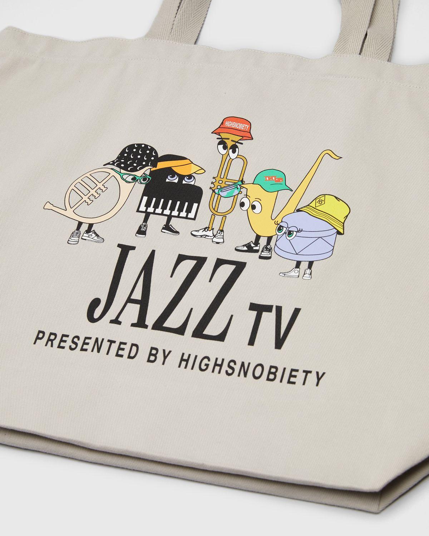 Newport Jazz Logo - Tote Beige - Image 3
