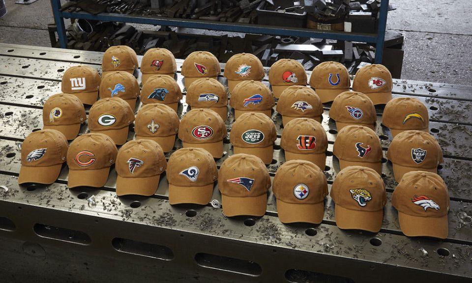 68564685d 47 & Carhartt Debut NFL Headwear Collection