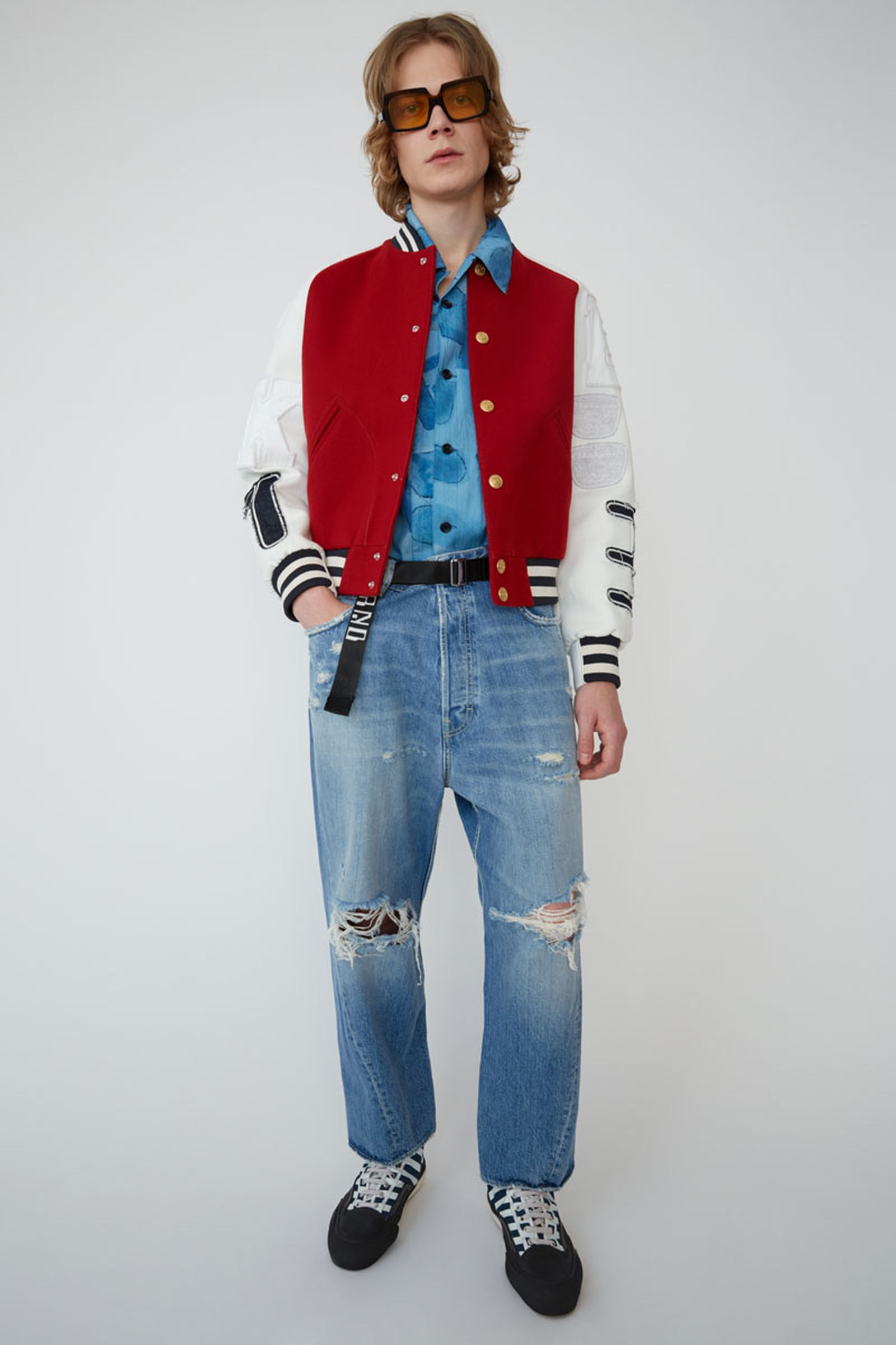 23acne studios ss19 denim collection