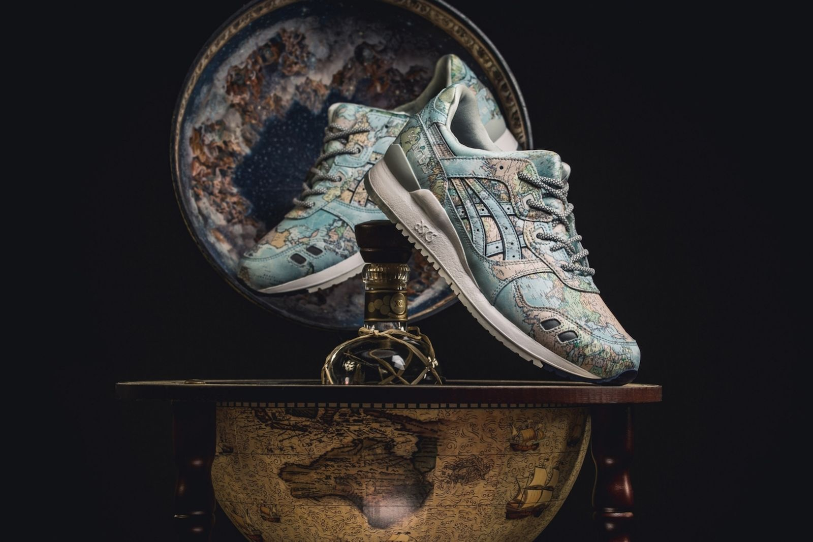 atmos asics gel lyte 3 world map release date price info