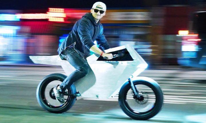 Casey Neistat Cyberbike