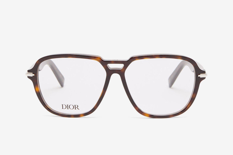 DiorBlackSuit Aviator Acetate Glasses