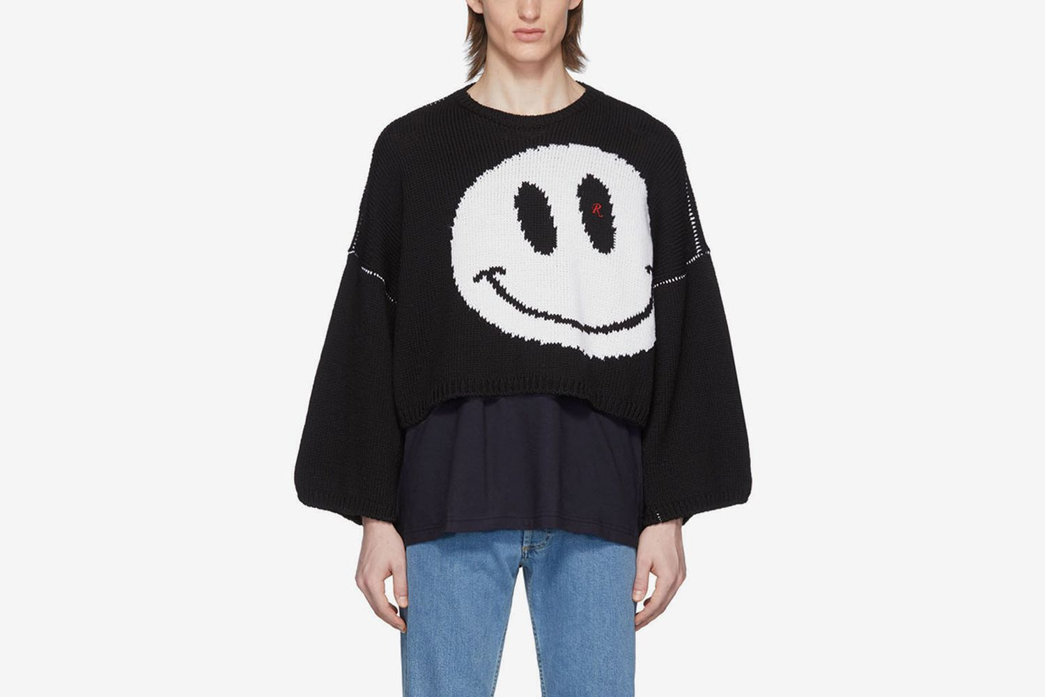 Wool Smiley Sweater