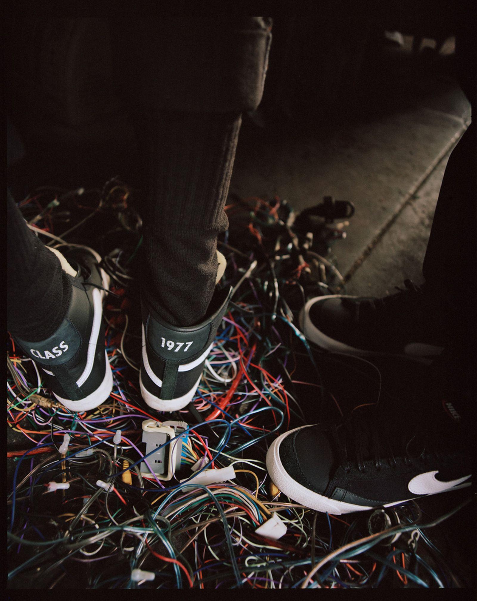Slam Jam x Nike Blazer Mid Class '77