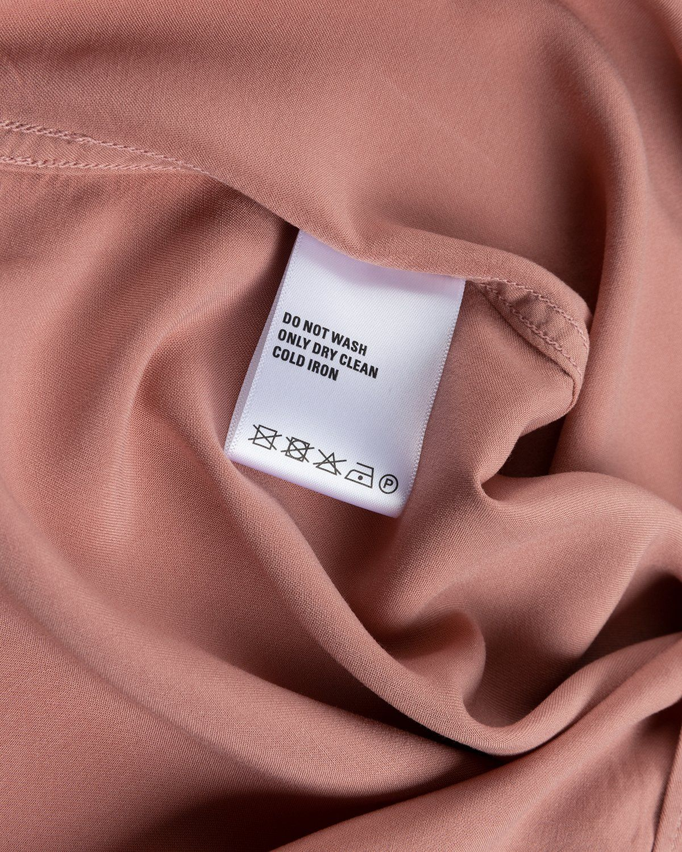 Highsnobiety – Bowling Shirt Mauve - Image 6