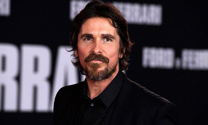 "Christian Bale attends the Premiere Of FOX's ""Ford V Ferrari"""