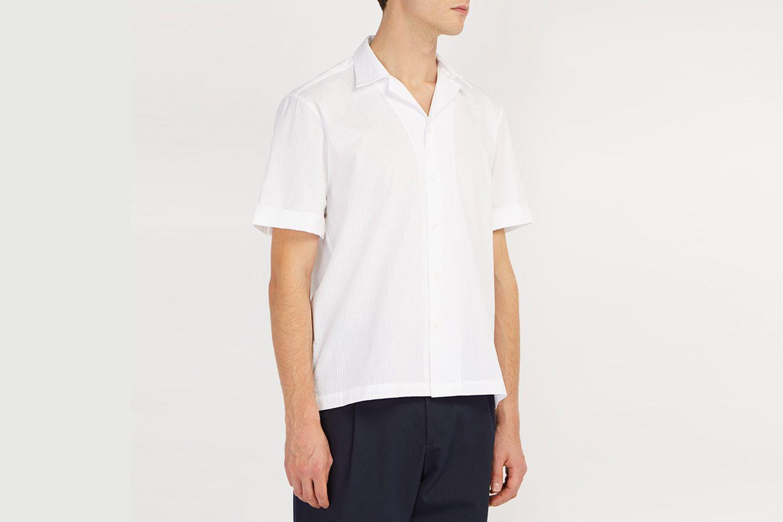 Cuban-Collar Shirt