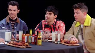 jonas brothers hot ones