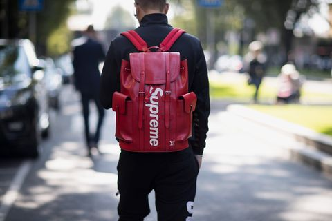 supreme backpack main KAWS Louis Vuitton Nike SB