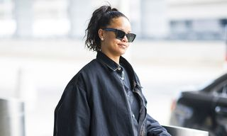 The Drip | Rihanna Pairs Custom Dior Tote With Cozy AF Street Style Look
