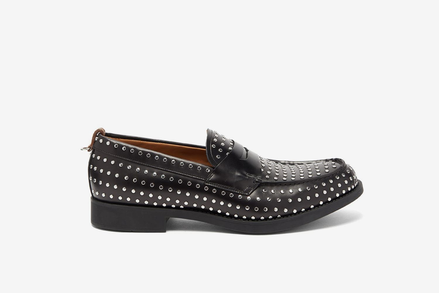Emile Studded-Leather Loafers