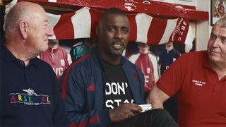 buy online 2f102 deb7e Idris Elba Stars in Cheeky Ad to Launch Arsenal & adidas ...