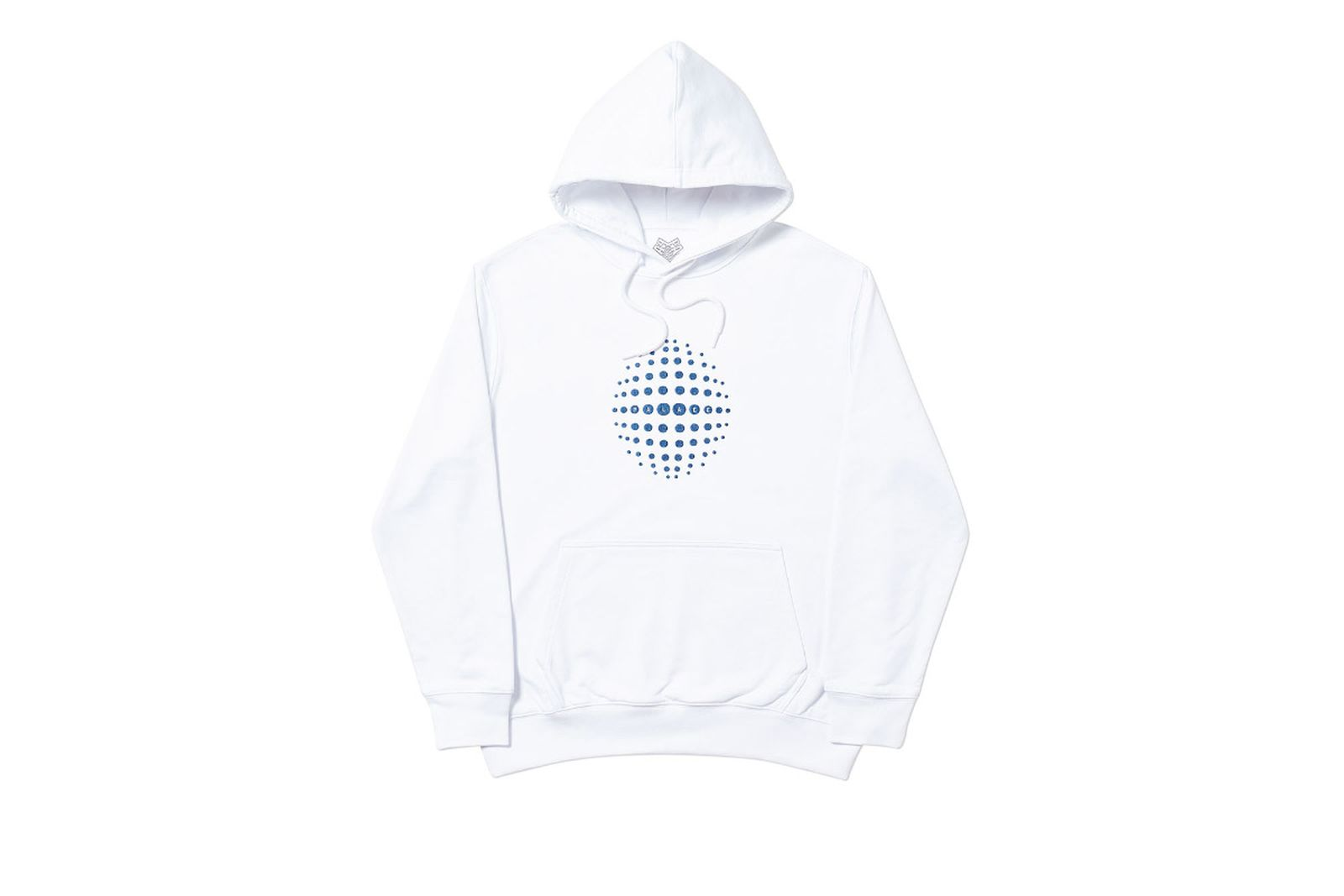 Palace 2019 Autumn Hoodie Sphere white front