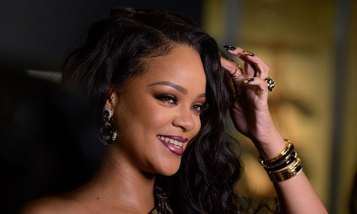 """Rihanna attends the launch of her first visual autobiography, """"Rihanna"""""""