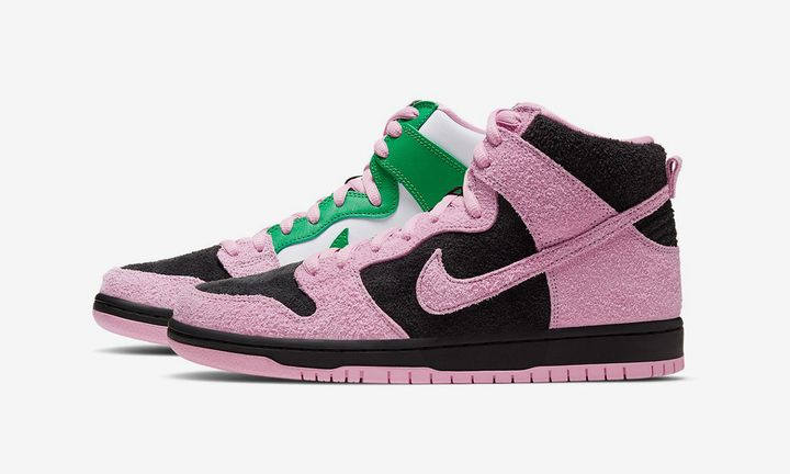 "Nike SB Dunk High ""Invert Celtics"""