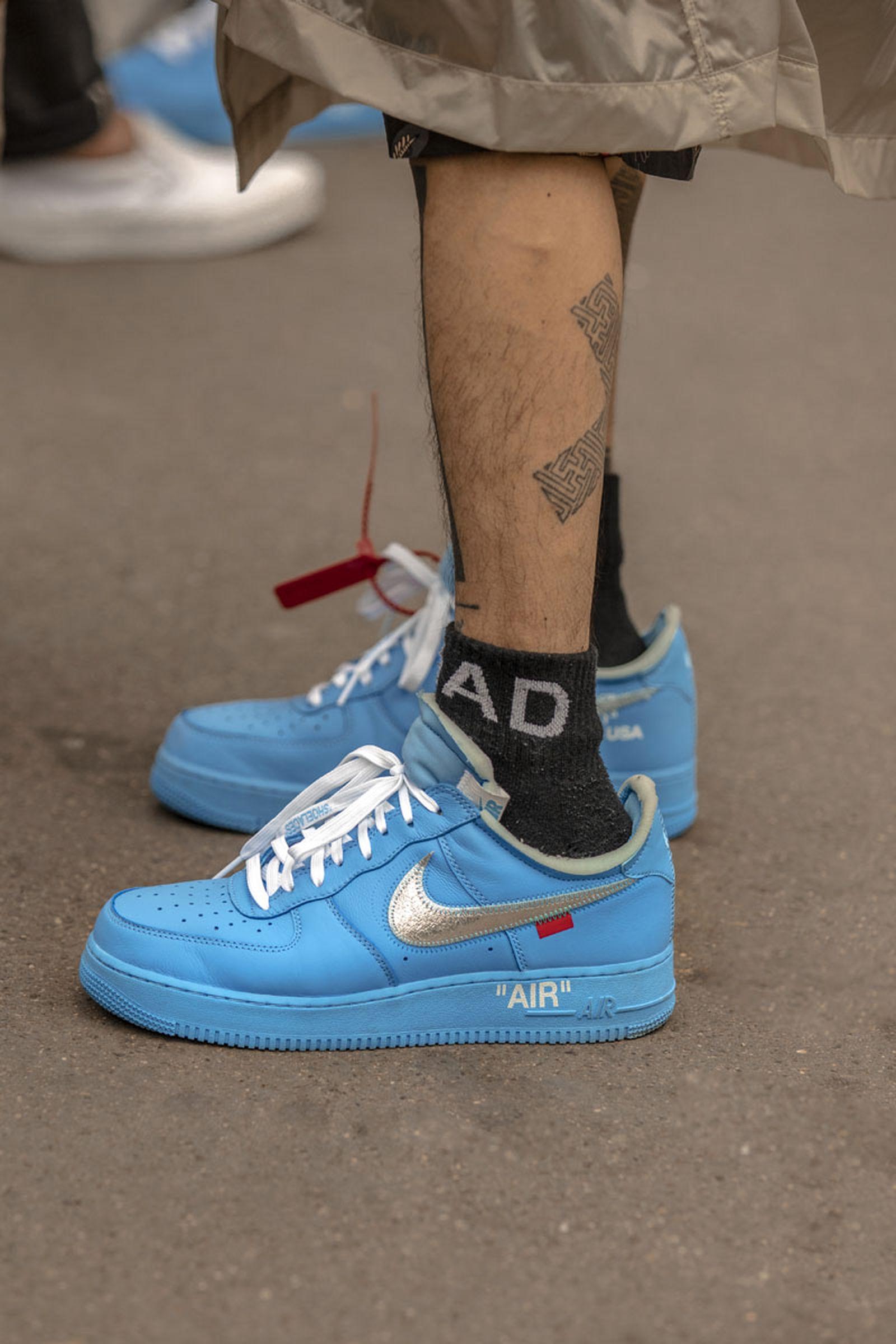 paris fashion week ss20 sneakers 03 Nike comme des garcons li ning