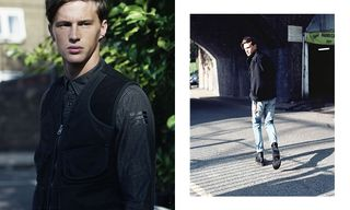 The Road Not Taken: England as Backdrop in Exclusive G-Star RAW Editorial Shoot