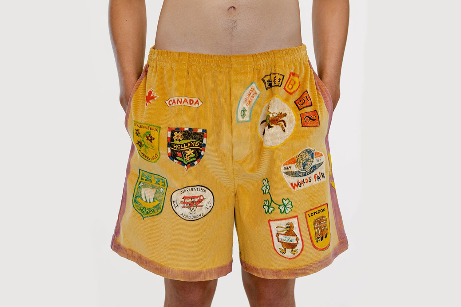Senior Cords Rugby Shorts