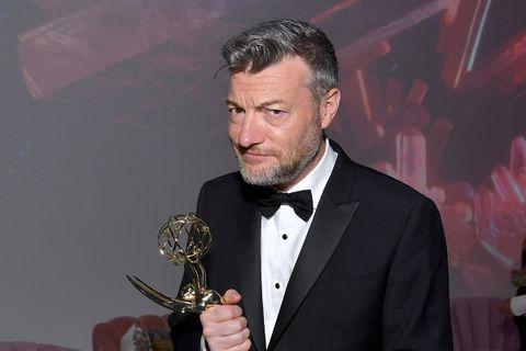 Charlie Brooker attends the 2019 Netflix Primetime Emmy Awards After Party