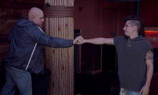 Sacha Baron Cohen & Hudson Mohawke Troll EDM with a Track of Stabbing Noises