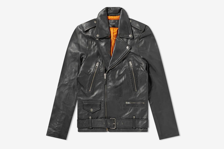 Loathing Leather Biker Jacket