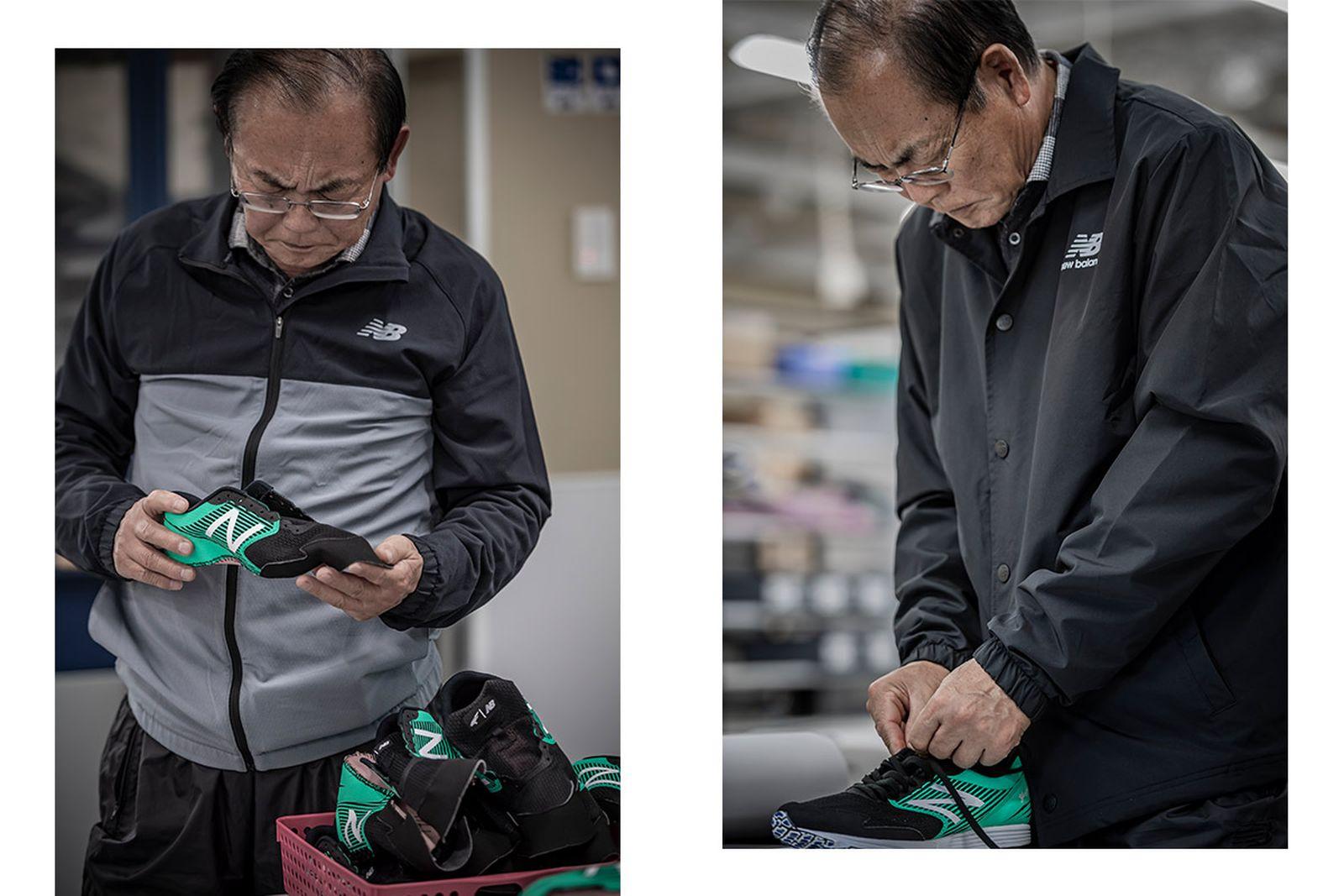 japans next great marathon runner got blessed god shoes03 New Balance running shoes