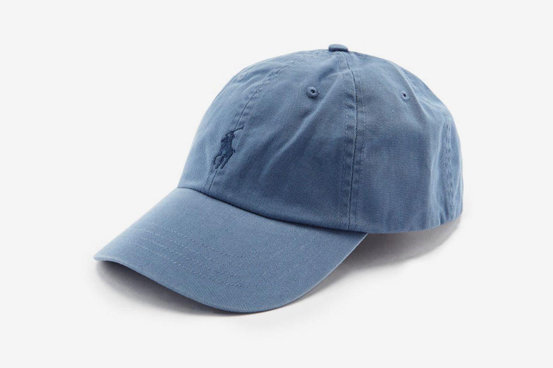 Logo-Embroidered Cotton-Twill Cap