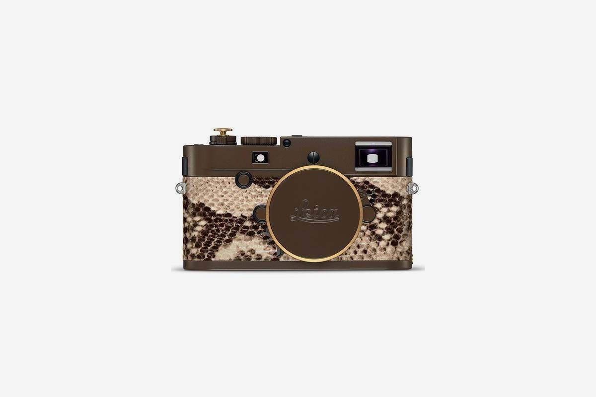 Leica Collabs With Lenny Kravitz on $24,000 Python Leather Camera