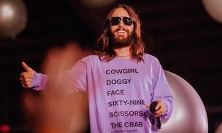 Jared Leto & Thirty Seconds to Mars' New Merch Is Weird AF