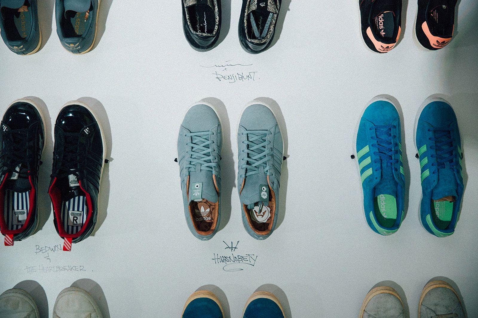 adidas campus vintage