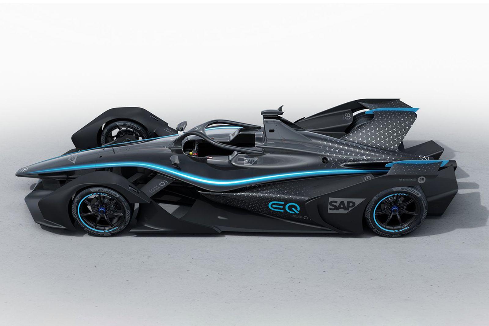 mercedes benz electric race car 2019 Geneva Motor Show mercedes-benz