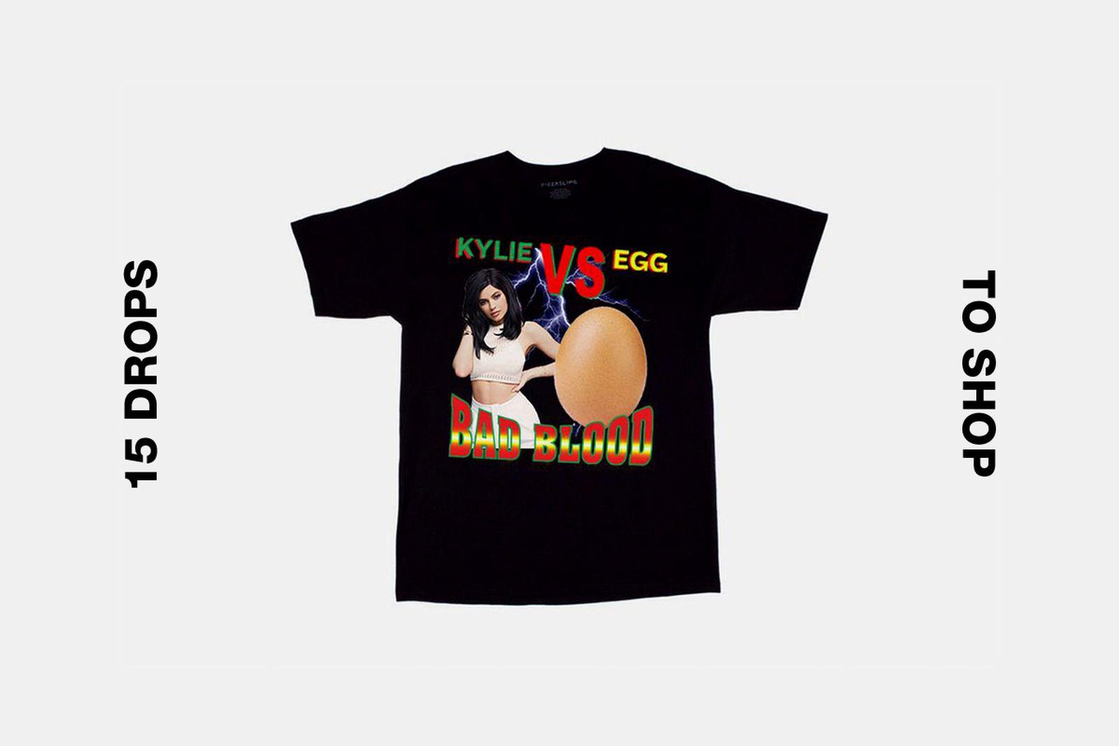 pizzaslime kylie egg t shirt best drops buy Air Jordan Converse Fendi